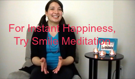 For Instant Happiness, Try Smile Meditation