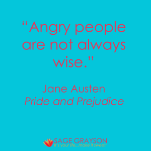 Angry People Are Not Always Wise