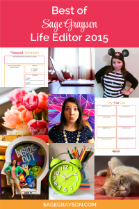 Best of Sage Grayson Life Editor 2015