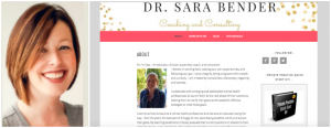 Client Spotlight: Dr. Sara Bender, Coaching and Consulting