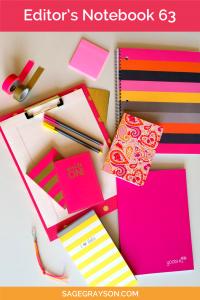 Editor's Notebook 63