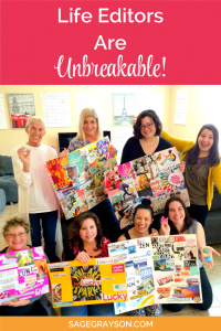 Life Editors Are Unbreakable!
