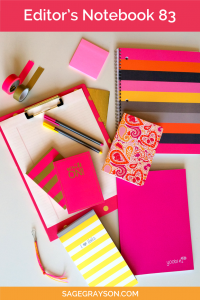 Editor's Notebook 83