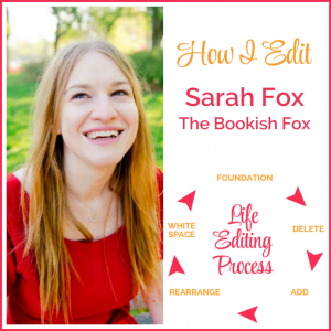 How I Edit: Sarah Fox, The Bookish Fox