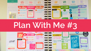 Plan With Me #3: Happy Planner, Rainbow Spread