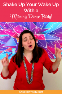 Shake Up Your Wake Up With a Morning Dance Party!