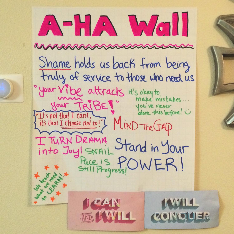 A-Ha Wall
