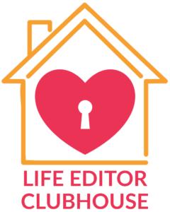 Life Editor Clubhouse logo white